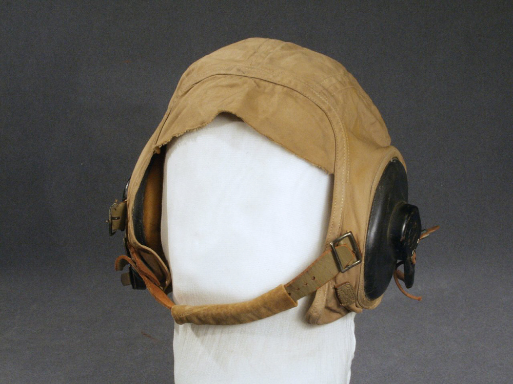 Helmet, Flying, Type AN-H-15, United States Navy,Helmet, Flying, Type AN-H-15, United States Navy