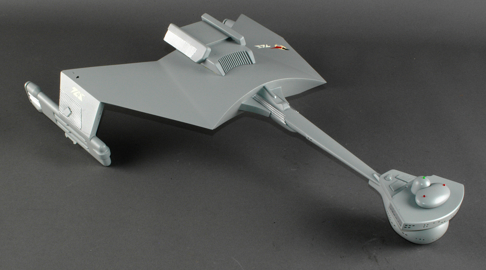 "Model, D7 Klingon Battle Cruiser, ""Star Trek"""