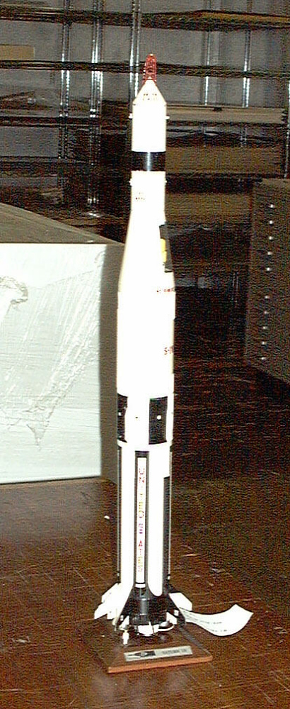 Model, Rocket, Saturn IB, 1:96,Model, Rocket, Saturn IB, 1:96