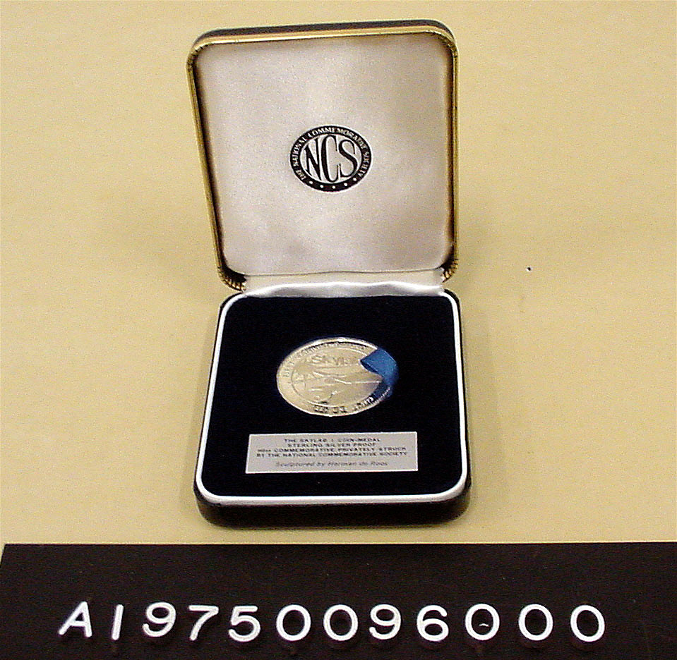 Medal, Commemorative, Skylab I,Medal, Commemorative, Skylab I