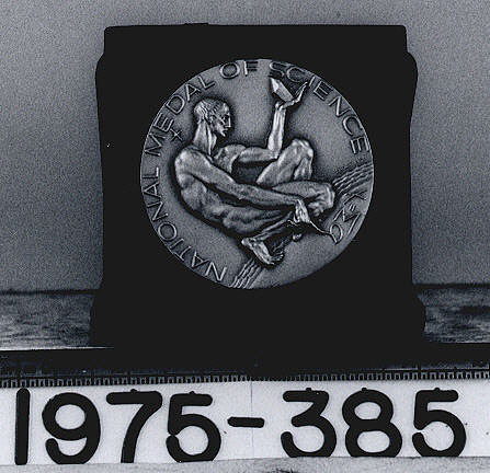 Medal, National Medal of Science, 1965, Hugh L. Dryden