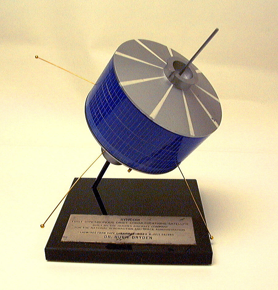 Model, Communications Satellite, Syncom A.M. Radio,Model, Communications Satellite, Syncom A.M. Radio