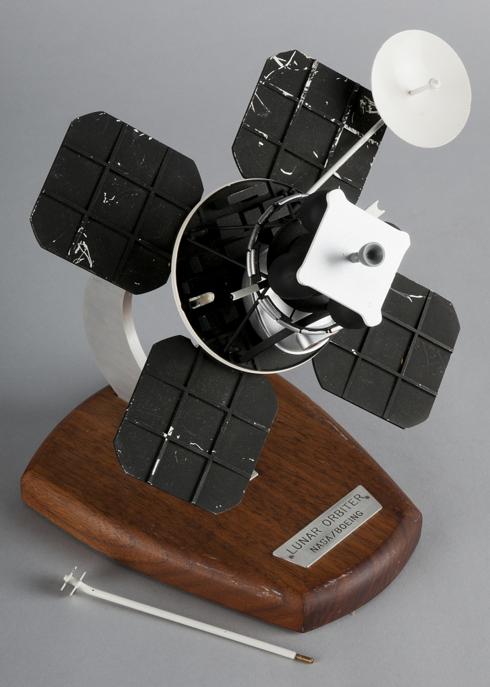Model, Unmanned Spacecraft, Lunar Orbiter