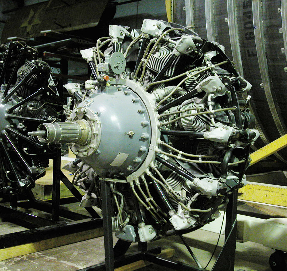 Pratt & Whitney Twin Wasp R-1830-92 Radial Engine