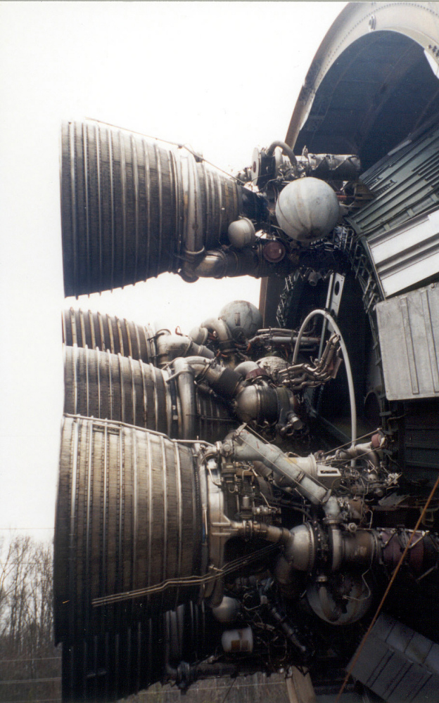 Second Stage, S-II-F/D, Saturn V Launch Vehicle, Dynamic Test Version