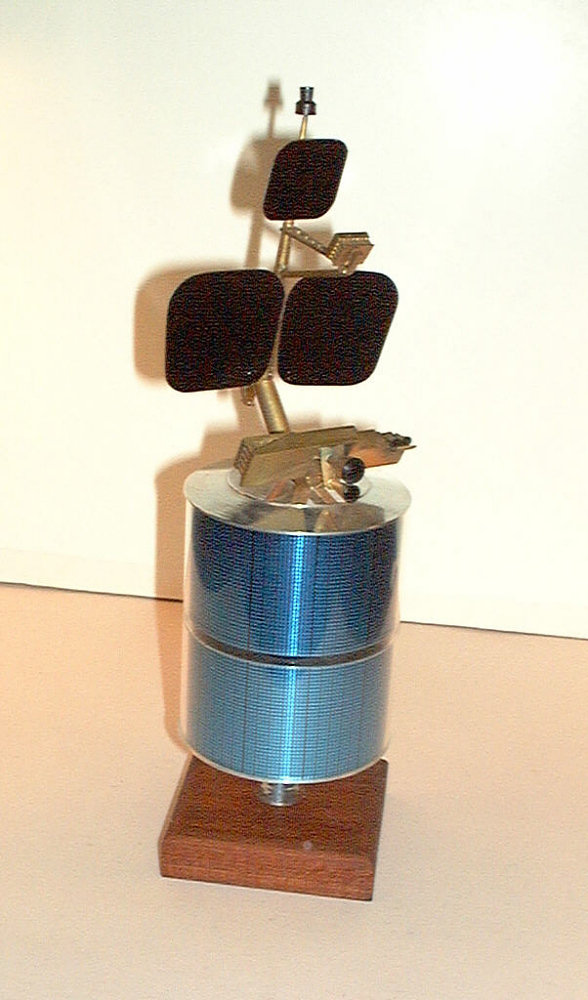 Model, Communications Satellite, Intelsat IV-A