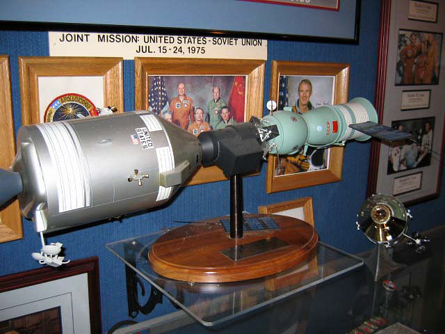 Model, Apollo-Soyuz Test Project, 1:25 Scale