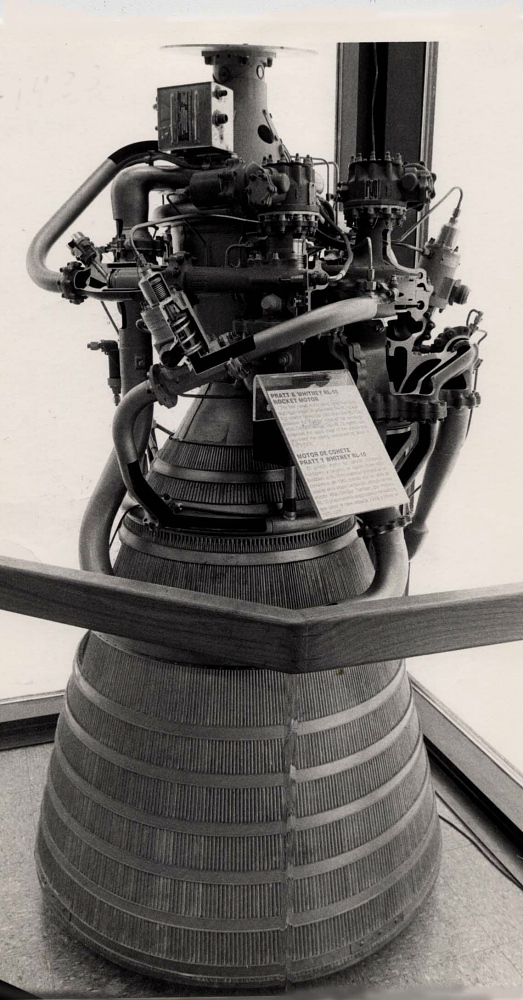 Rocket Engine, Liquid Fuel, RL-10, Cutaway