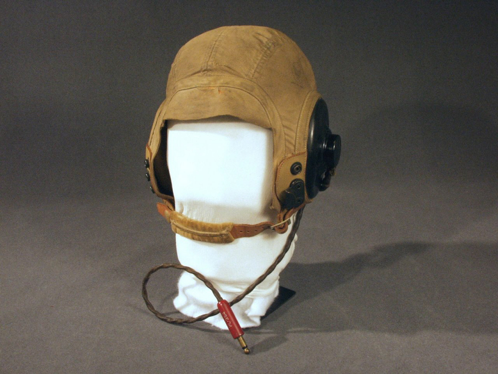 Helmet, Flying, Type AN-H-15, United States Army Air Forces,Helmet, Flying, Type AN-H-15, United States Army Air Forces