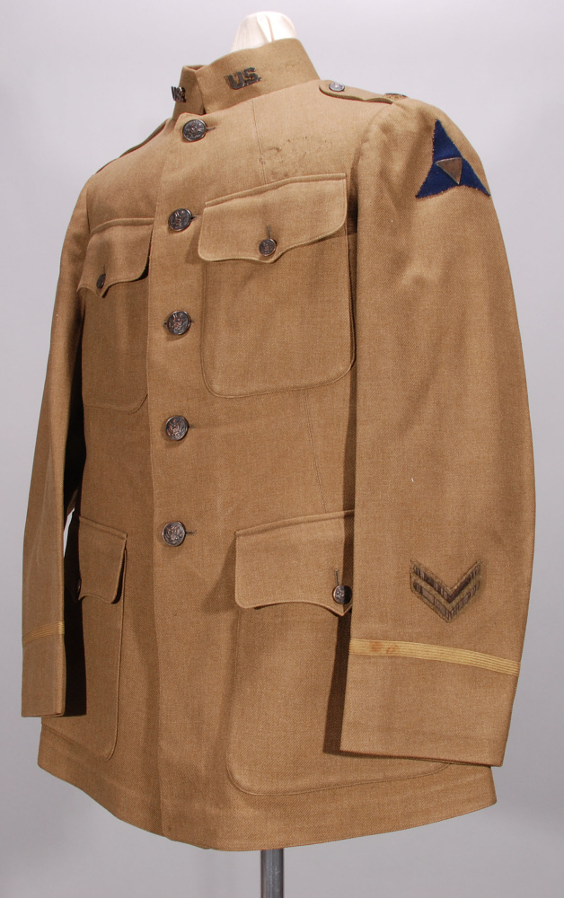 Coat, Service, United States Army Air Service,Coat, Service, United States Army Air Service