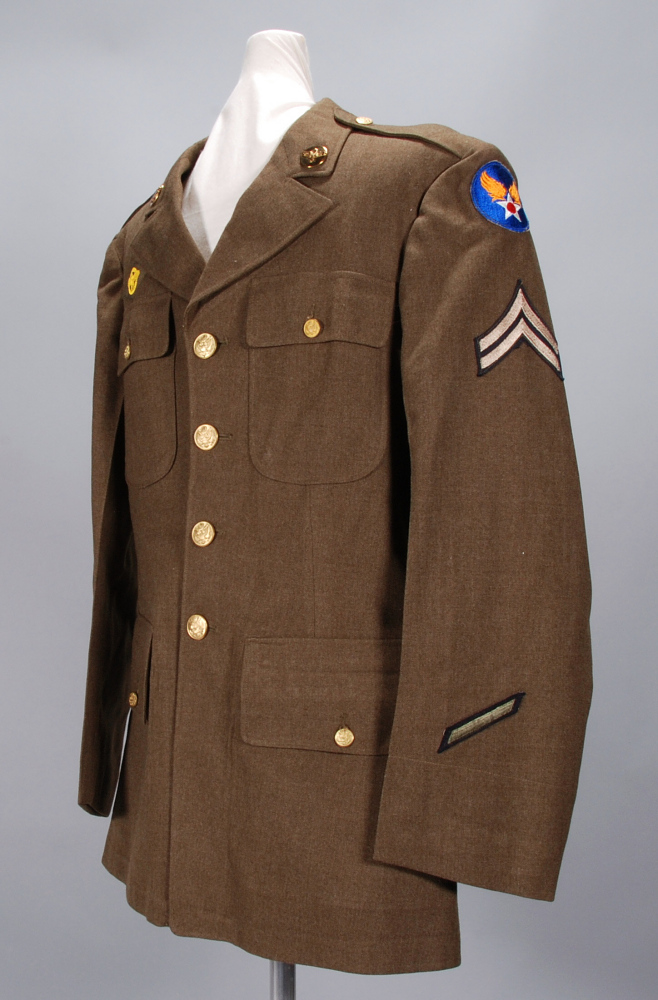 Coat, Service, Type M1942, United States Army Air Forces,Coat, Service, Type M1942, United States Army Air Forces