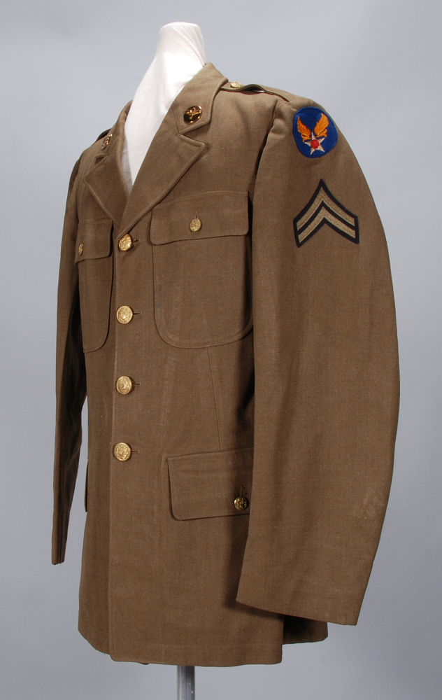 Coat, Service, Type M1939, United States Army Air Forces,Coat, Service, Type M1939, United States Army Air Forces