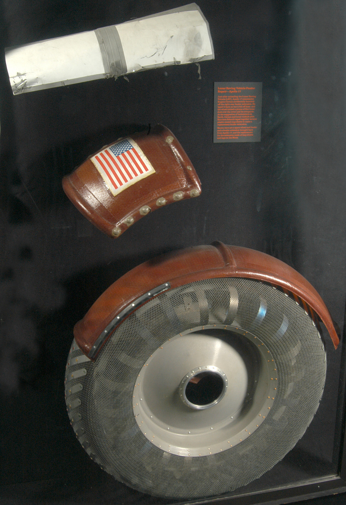 Extension, Fender, Lunar Roving Vehicle, Apollo17