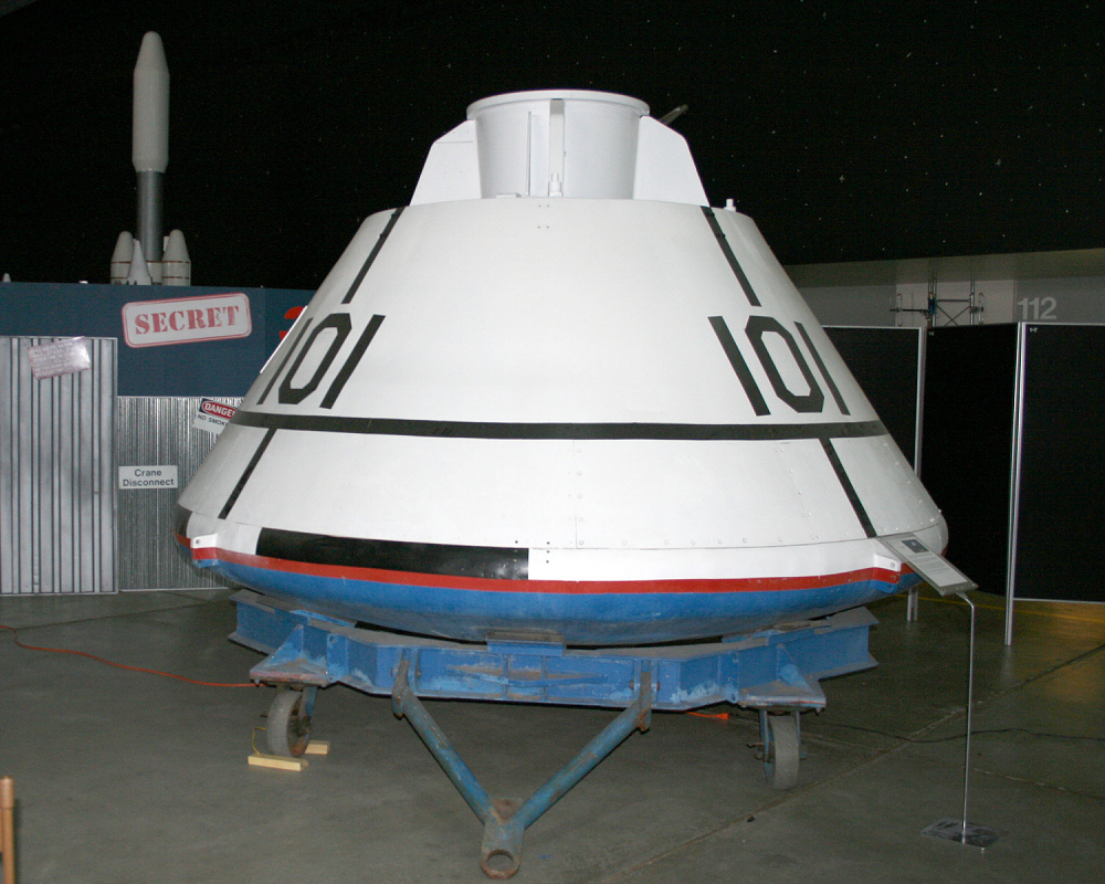 Boilerplate, Command Module, Apollo, #1101A