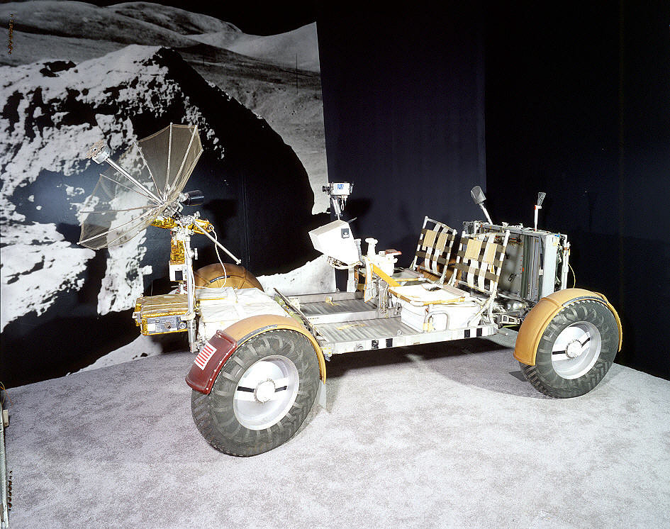 Lunar Roving Vehicle, Qualification Test Unit