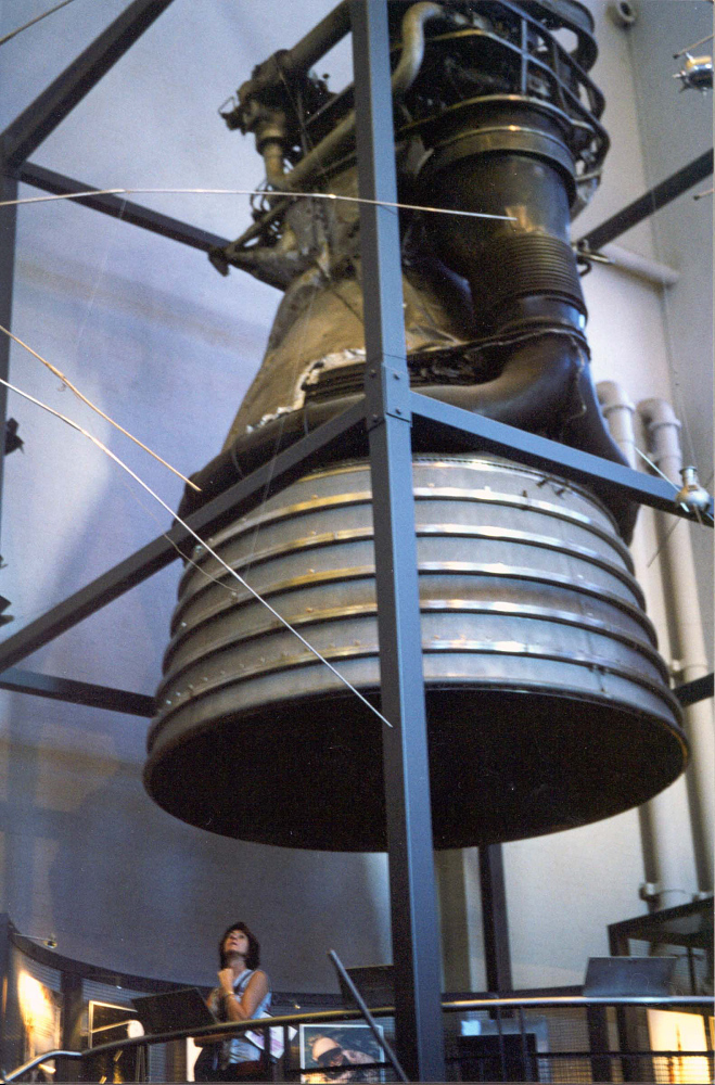 Rocket Engine, Liquid Fuel, F-1