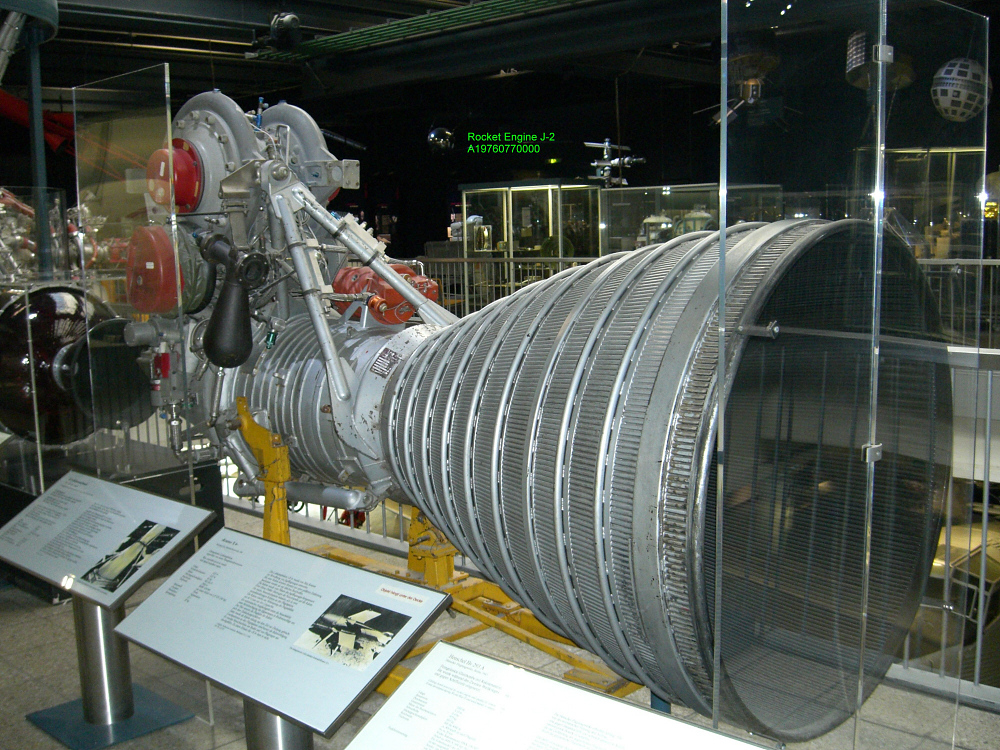 Rocket Engine, Liquid Fuel, J-2, Mockup