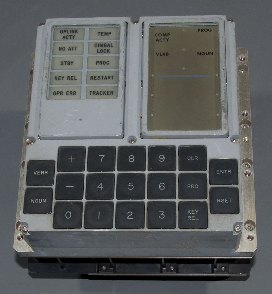 Display, Keyboard, Apollo Guidance Computer