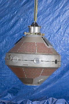 Satellite, Explorer 8, Replica