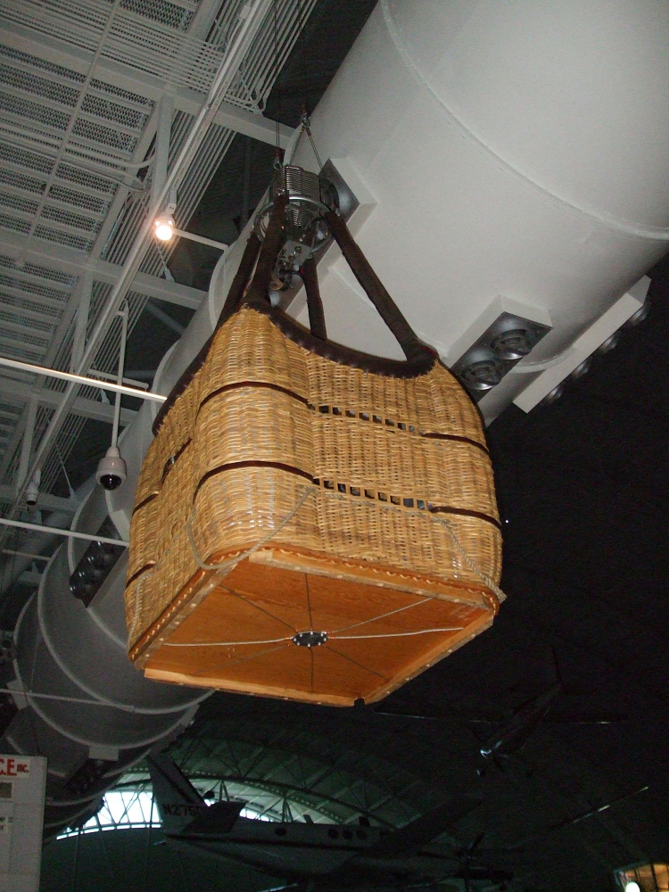 Basket, Balloon, Wicker