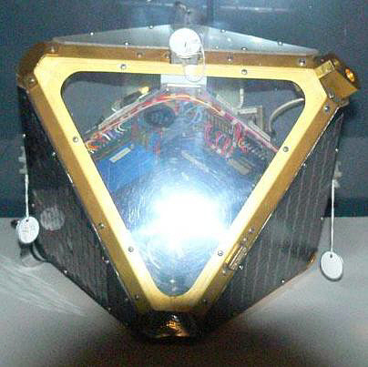 Satellite, ERS-17, Mock-up