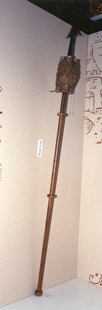 Model, Fire Arrow Rocket, Sweden, 17th Century