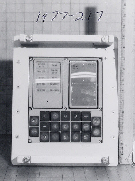 Keyboard, Display (DSKY), Apollo 7
