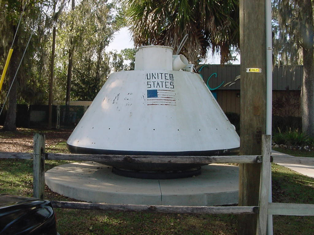 Boilerplate, Command Module, Apollo, #1207