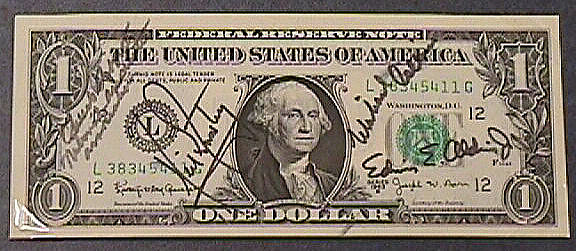 One Dollar Bill, Apollo 11