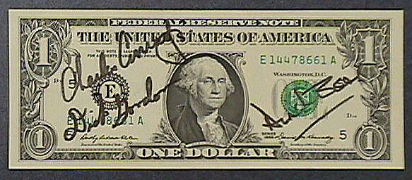 One Dollar Bill, Apollo 12,One Dollar Bill, Apollo 12