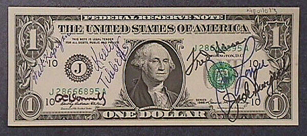 One Dollar Bill, Apollo 13