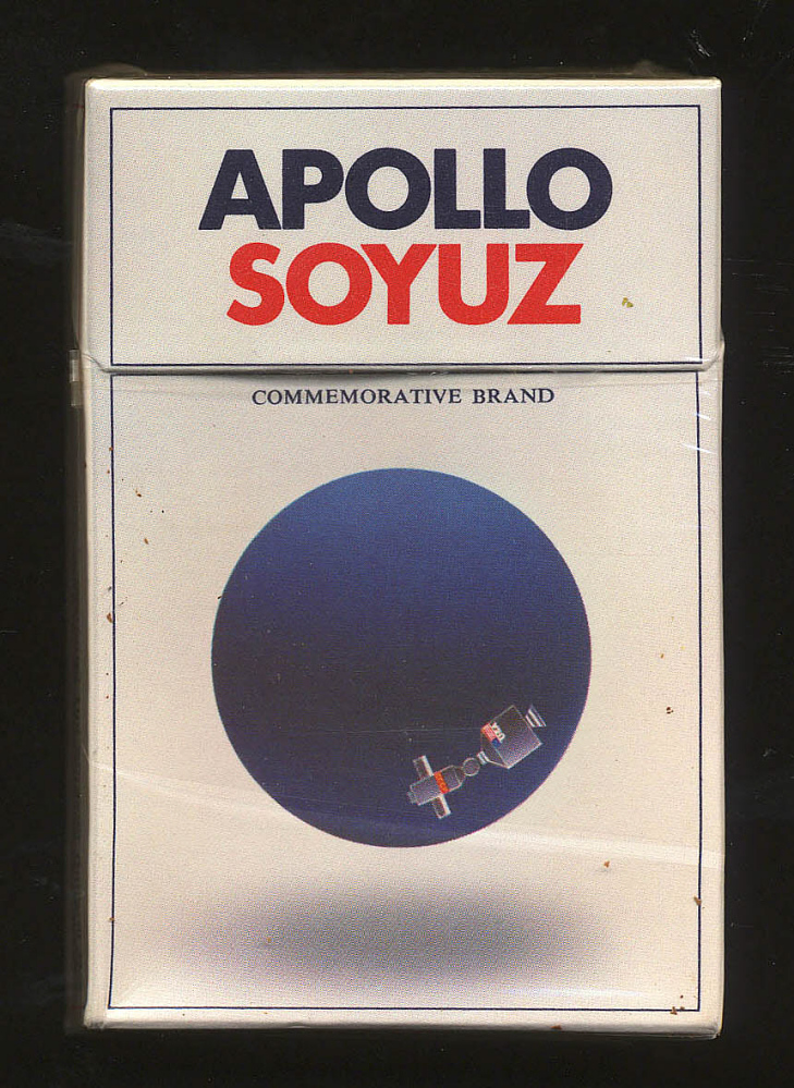 Cigarettes, Apollo-Soyuz