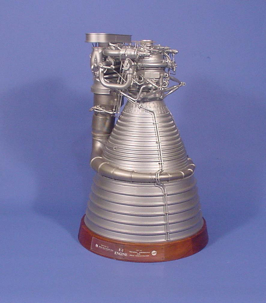 Model, Engine, Rocket, Liquid Propellant, F-1