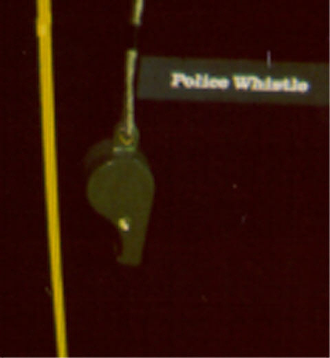 Whistle, Police, Mercury
