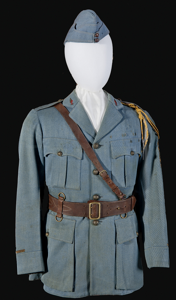 Coat, Service, French Air Service, Edwin Parsons,Coat, Service, French Air Service, Edwin Parsons