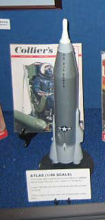Model, Missile, Atlas E, 1:48