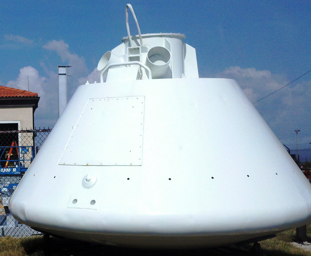 Boilerplate, Command Module, Apollo, #1206
