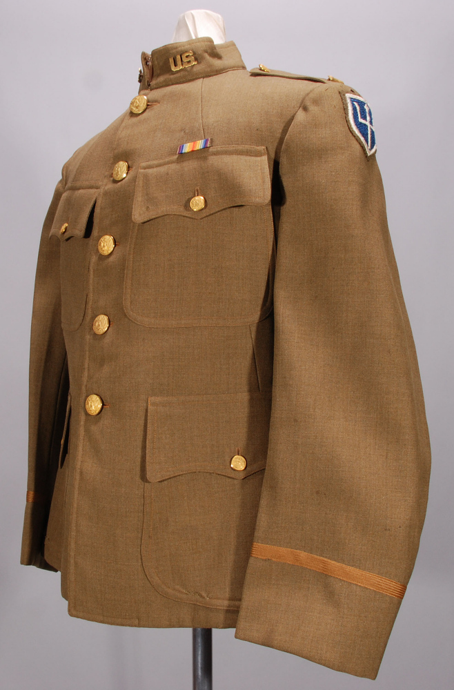 Coat, Service, Officer, United States Army Air Service,Coat, Service, Officer, United States Army Air Service