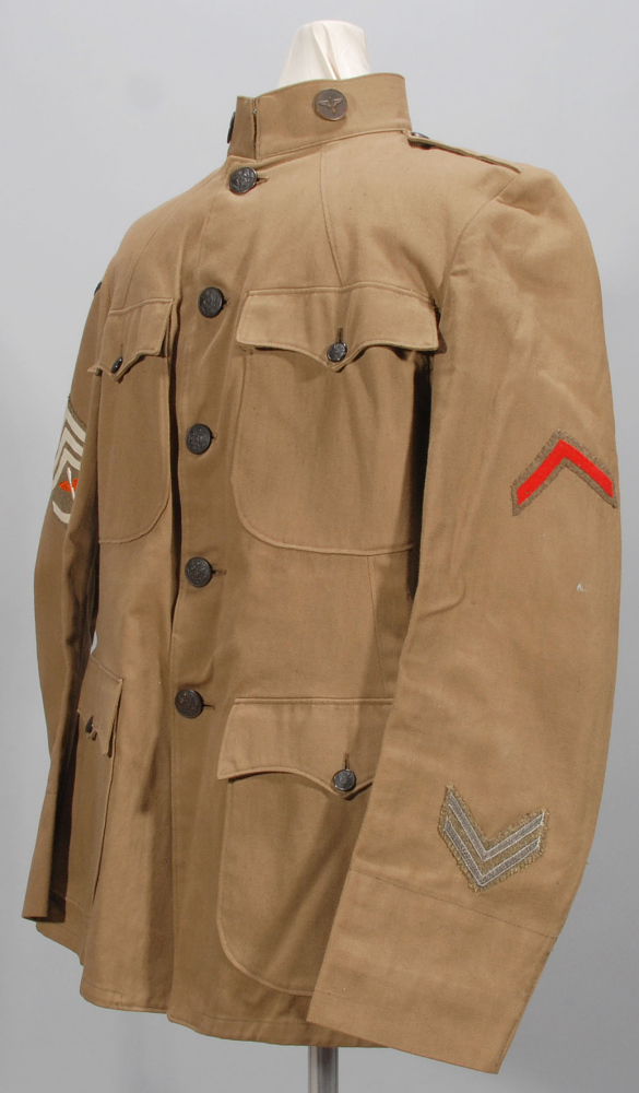Coat, Service, Enlisted Man, United States Army Air Service,Coat, Service, Enlisted Man, United States Army Air Service