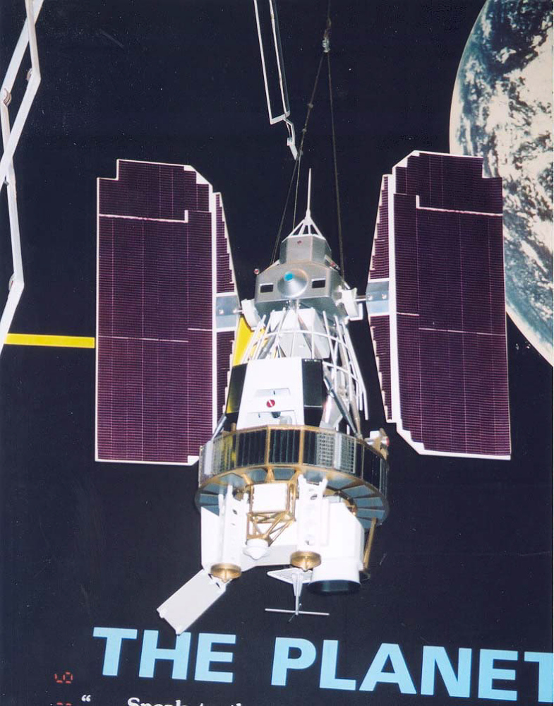 Model, Satellite, Remote Sensing, Landsat C