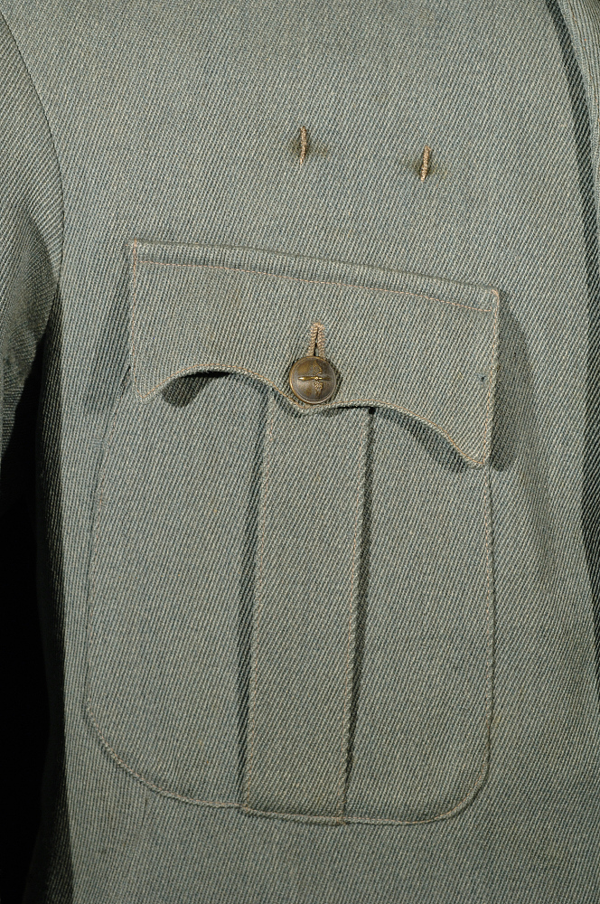 Coat, Service, French Air Service, Walter Shaffer