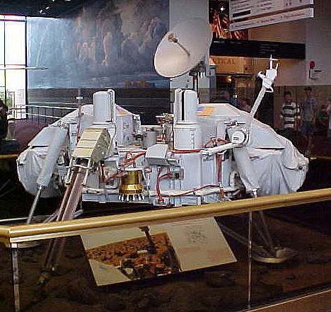 Lander, Mars, Viking, Proof Test Article