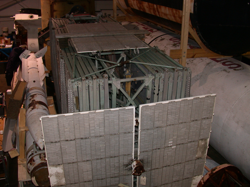 "Satellite, Pegasus B, Collecting Surfaces ""Wing Section,"" Mock-up"