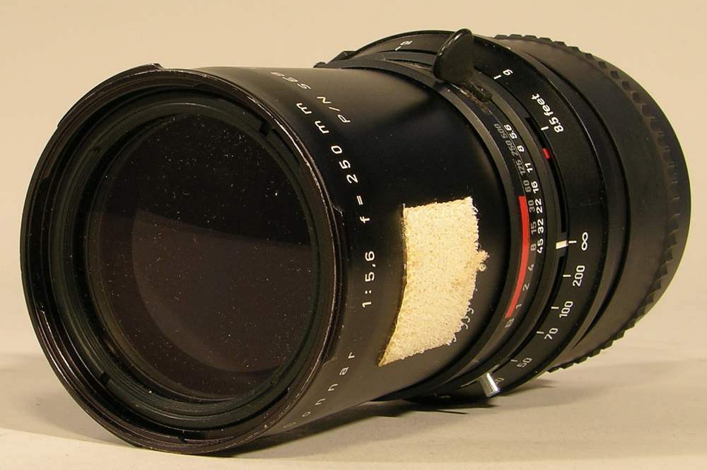 Lens, 250mm, Apollo 11,Lens, 250mm, Apollo 11