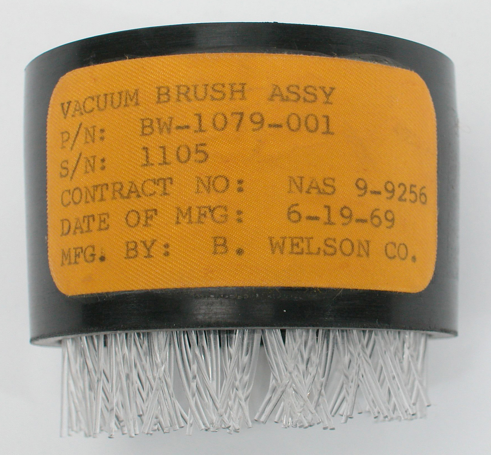 Brush, Vacuum, Apollo 11,Brush, Vacuum, Apollo 11