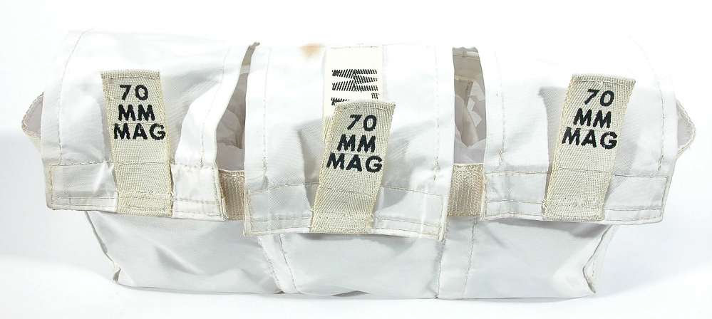 Bag, 70mm Film Magazine Transfer, Apollo 11,Bag, 70mm Film Magazine Transfer, Apollo 11