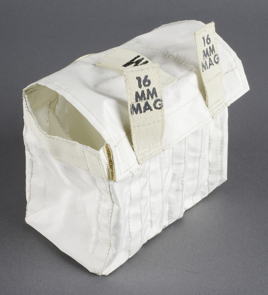 Bag, Film Magazine, 16 mm, Lunar Module XFR, Apollo 11,Bag, Film Magazine, 16 mm, Lunar Module XFR, Apollo 11