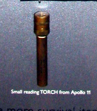 Penlight, Apollo 11
