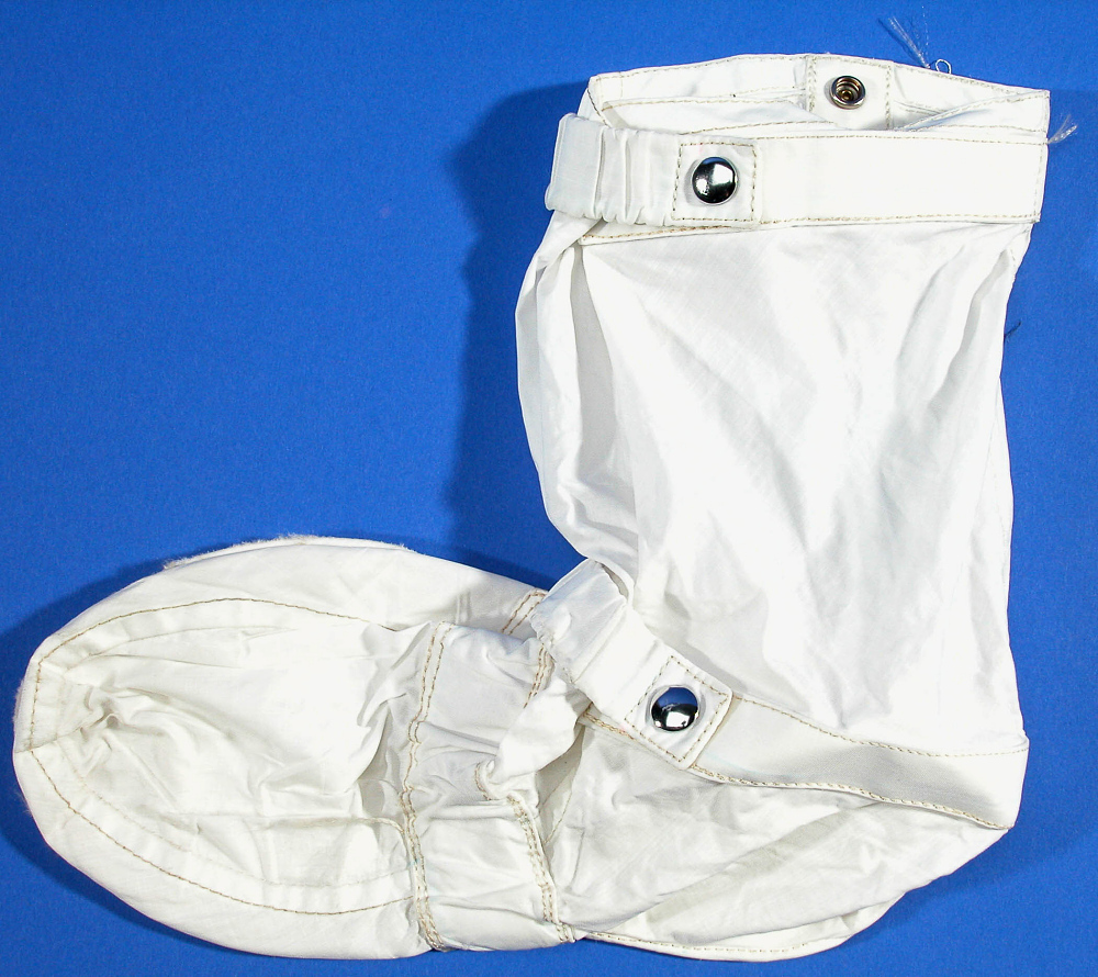 Inflight Coverall Garment, Boots, Aldrin, Apollo 11