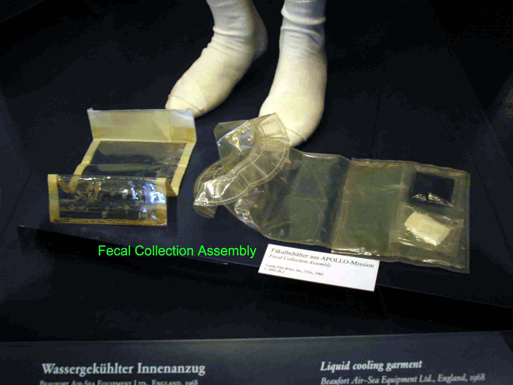 Collection Assembly, Fecal, Apollo 11